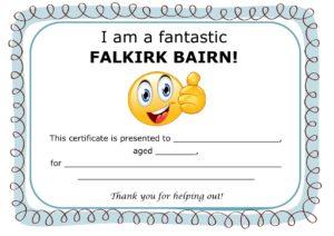 Falkirk Bairns cert final 300x212