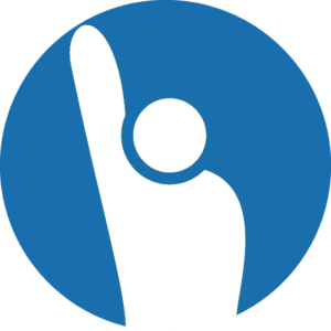 Icon Volunteering blue 300x300